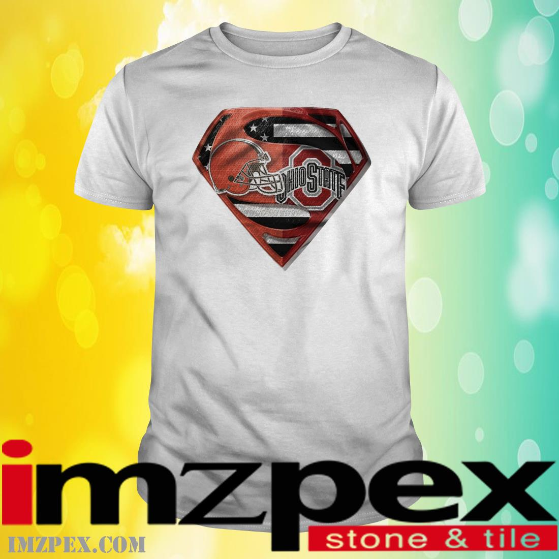 Cleveland Browns and Ohio State Buckeyes Superman shirt
