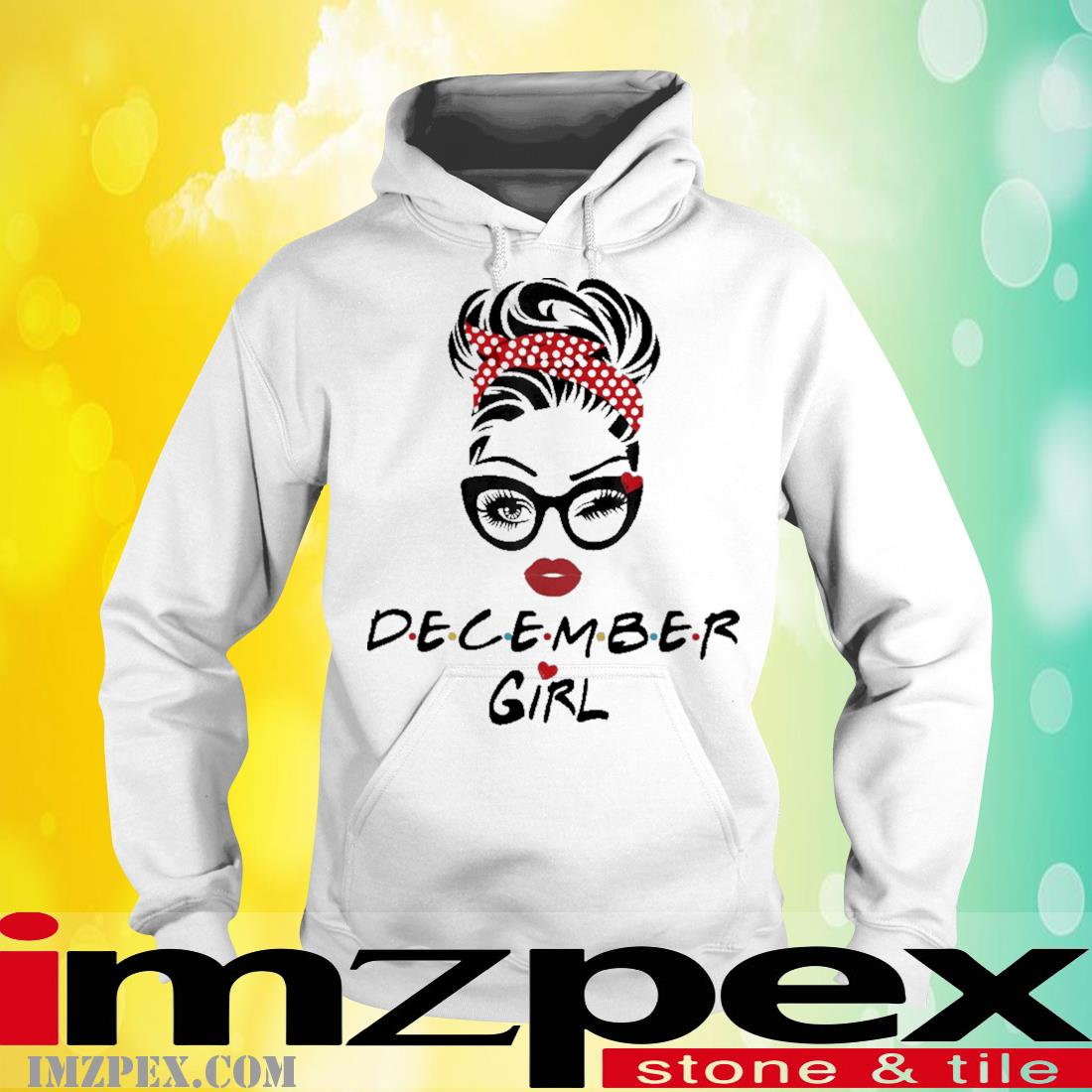 December Girl Wink Eye Shirt hoodie