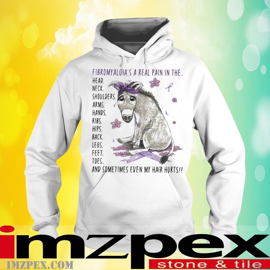 Donley fibromyalgia a real pain In the hoodie