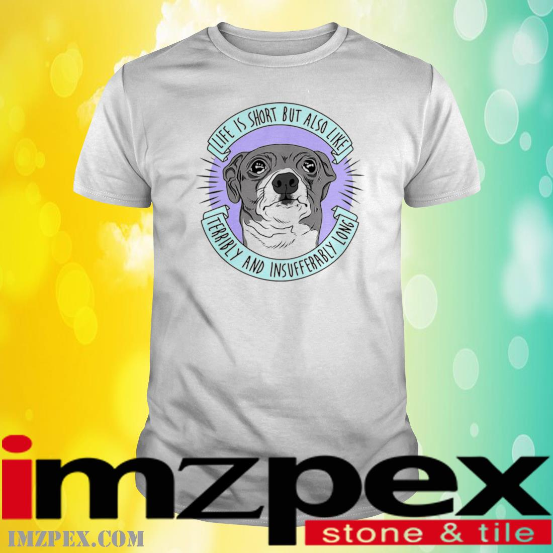 Jenna Marbles Life Is Short But Also Like Terribly And Insufferably Long At The Same Time Shirt