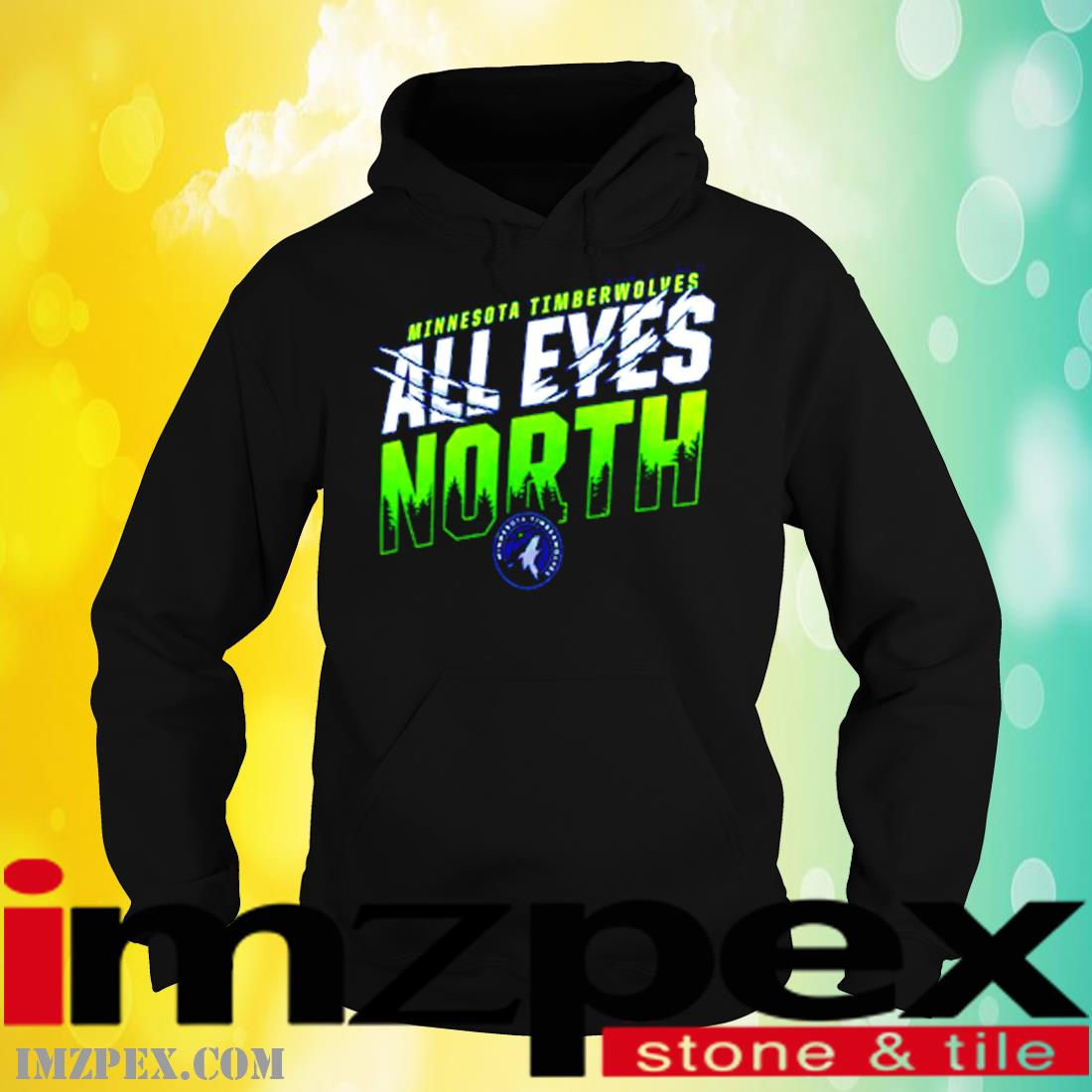 Minnesota Timberwolves All Eyes North Shirt hoodie