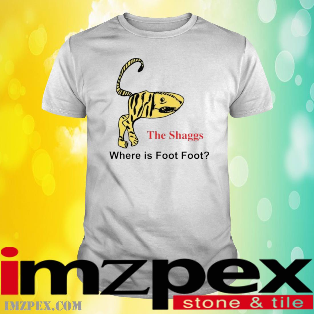 The Shaggs Where Is Foot Foot Shirt