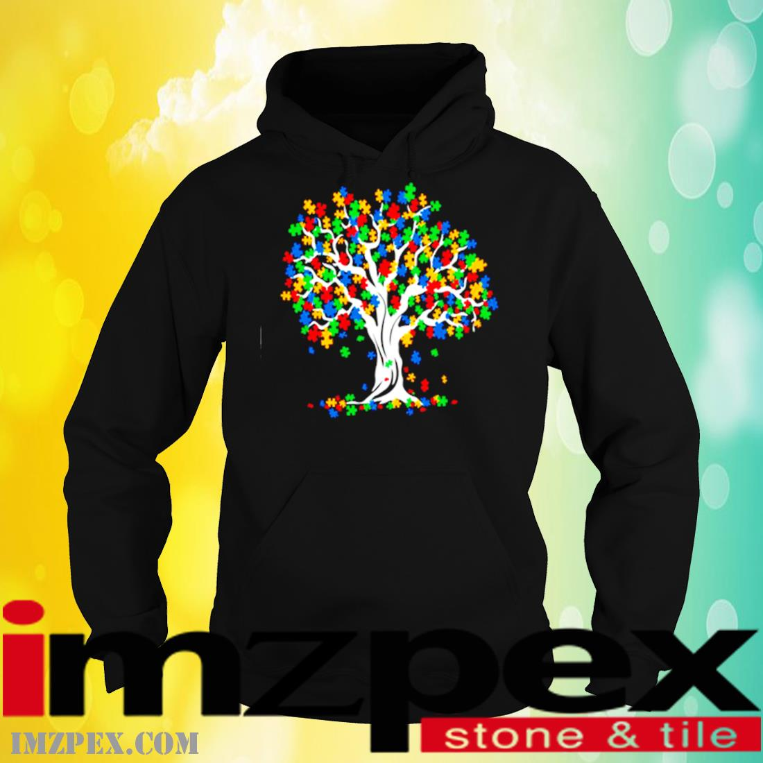 Tree Of Life Autism Awareness Month Shirt hoodie