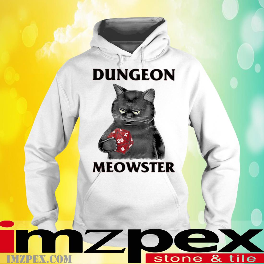 Dungeon Meowster Cat Game Shirt hoodie