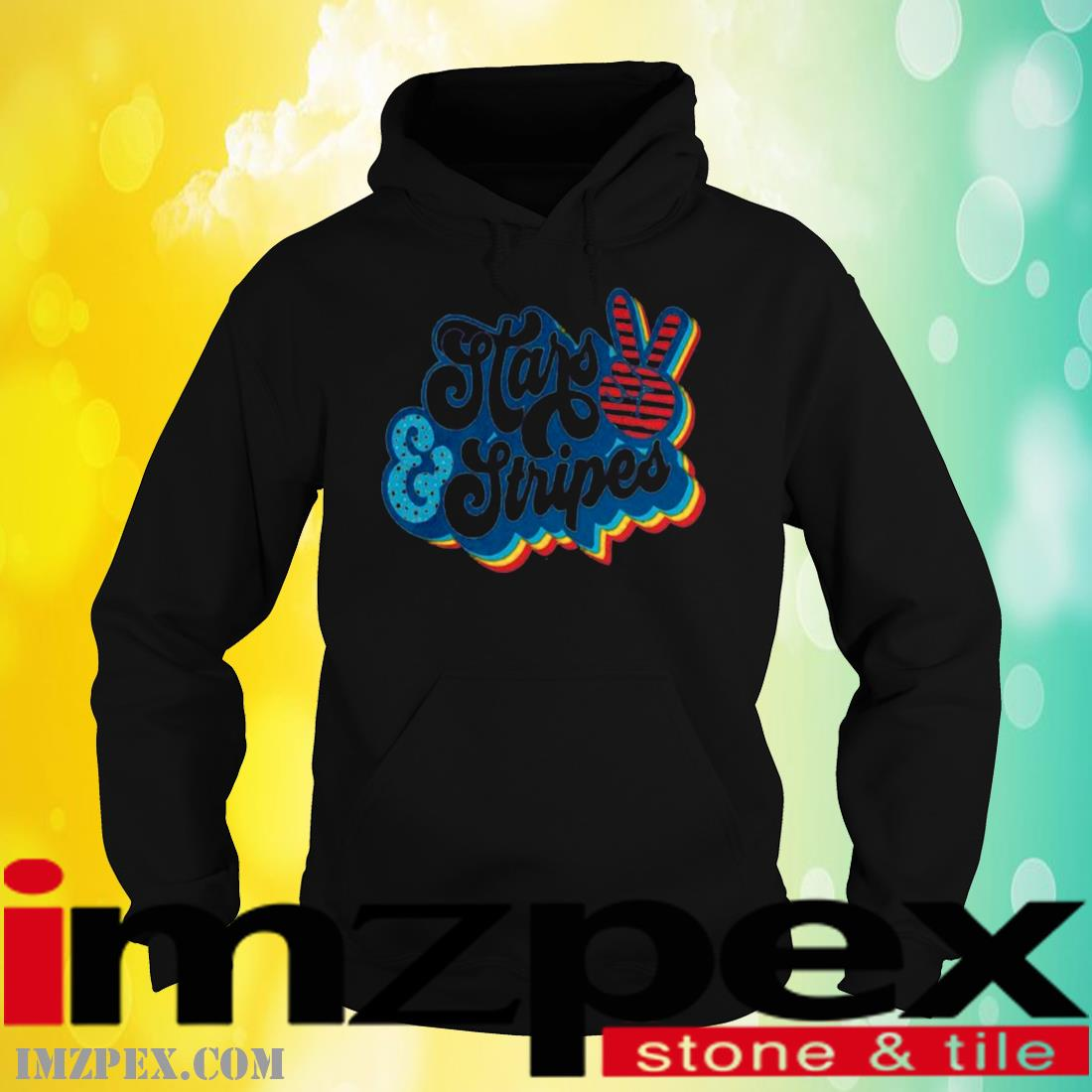Stars And Stripes 4th Of July Shirt hoodie
