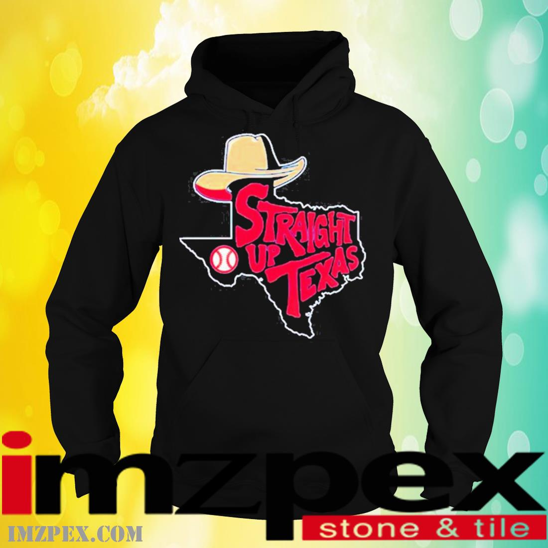 Straight Up Texas Baseball Shirt hoodie