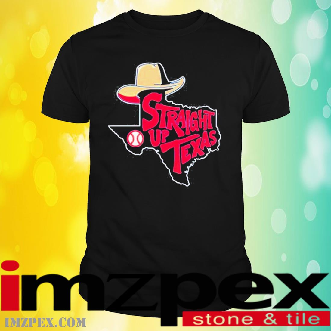 Straight Up Texas Baseball Shirt